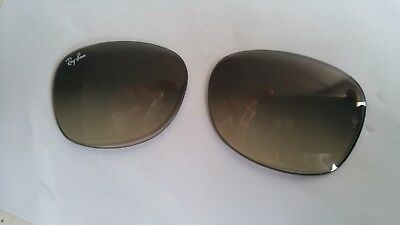2 VERRES SOLAIRE RAY BAN 5,2/3,8 CM beg