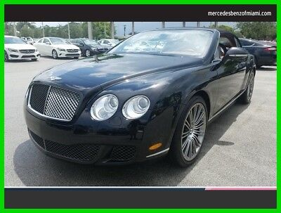 Bentley Continental GT Speed 2010 Speed Used Turbo 6L W12 48V Automatic All Wheel Drive Premium