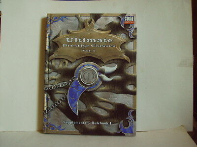 Ultimate Prestige Classes Vol. 1 - Supplementary Rulebook - Mongoose 2002 - HC