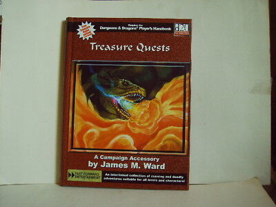 Dungeons & Dragons * Treasure Quests - Campaign Accessory - 3rd. 2002 - HC