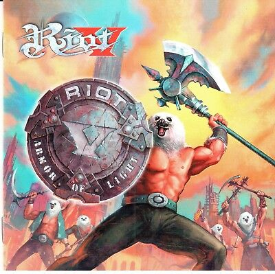 RIOT V - ARMOR OF LIGHT (+2 Bonus)(2018) Heavy Metal CD Jewel Case+FREE GIFT