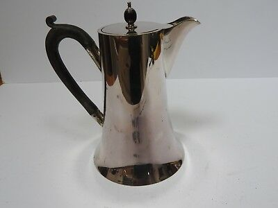 VINTAGE VICTORIAN SILVER PLATED HOT WATER JUG / COFFEE POT by HUKIN & HEATH