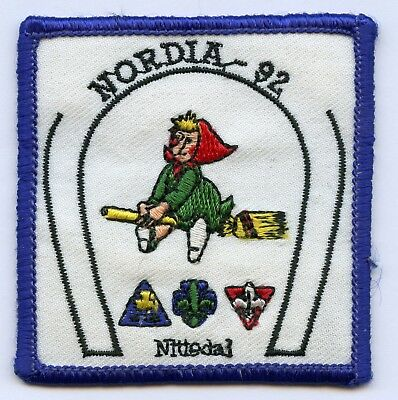 Norway Scout NSF KFUM Nordia 1992 Patch Badge High Grade !!!