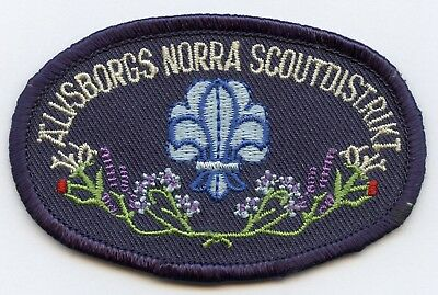 Norway Scout District Alvsborg Patch Badge High Grade !!!