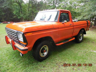 1975 Ford F-100  Classic 1975 Ford F-100 4WD Shortbed