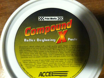 Compound X Roller Deglazing Paste