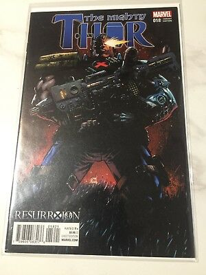 The Mighty Thor #18 Resurrxion Variant Cable NM