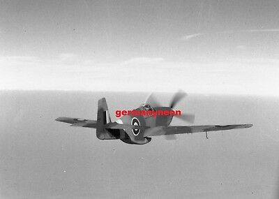 RAF,  MUSTANG III,  FX 893,   1940s,   LARGE ORIGINAL NEGATIVE & PHOTO   (455)
