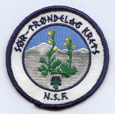 Norway Scout Sor Trondelag Krets Patch Badge High Grade !!!