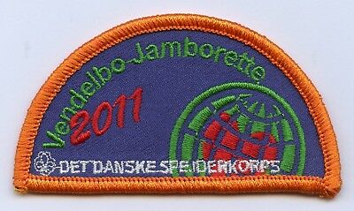 Denmark Danish Scout Patch Jamboree Vendelbo 2011 Badge High Grade !!!