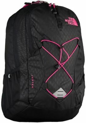 570dbf056 THE NORTH FACE Backpack-Women Jester-Black Emboss/Petticoat Pink