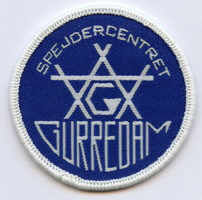 Denmark Danish Scout Center Gurredam Patch Badge High Grade !!!