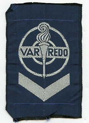 Sweden Swedish Scout Patch VAR REDO Badge High Grade !!!