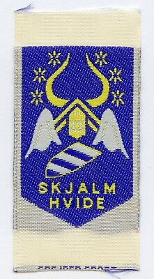 Denmark Danish Scout Patch Camp Skjalm Hvide Badge High Grade !!!