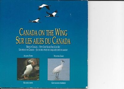 1995 Canada On The Wing 2 Proof 50 Cents