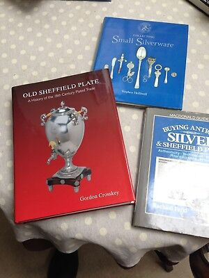 Collection Of Three Books On Silver And Silver Plate
