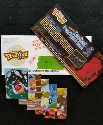 Disney Toontown Online Game Newsletter/Poster/Trading Cards May 2006