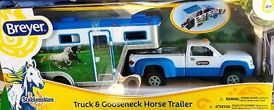 Breyer Stablemates Truck and Gooseneck Trailer Horse Vehicle NEW IN BOX