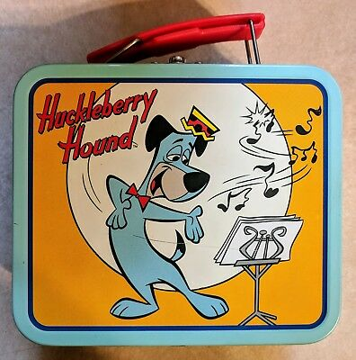 Huckleberry Hound Small Metal Lunch Box - Excellent Condition!