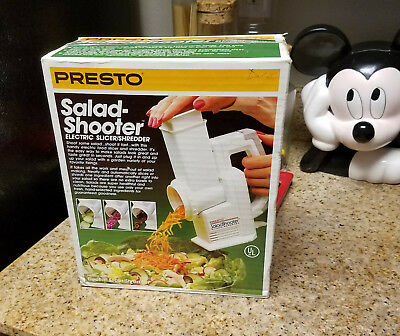 Brand NEW! Presto SALAD SHOOTER! 2910 Food Processor