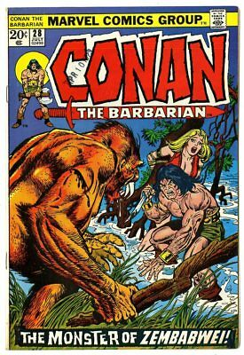 Conan the Barbarian #28 VF/NM 9.0  Marvel  1973  No Reserve