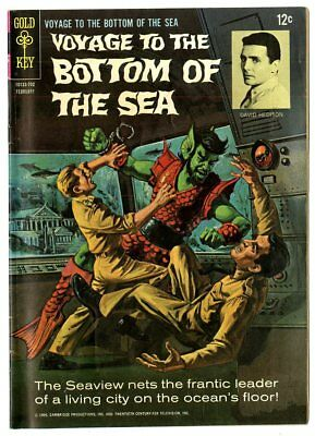 Voyage to the Bottom of the Sea #7 VF- 7.5  Gold Key  1967  No Reserve