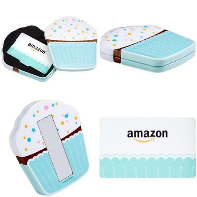 AmazonCom Gift Card In A Birthday Cupcake Tin 25