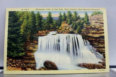 West Virginia WV Blackwater Falls Postcard Old Vintage Card View Standard Post