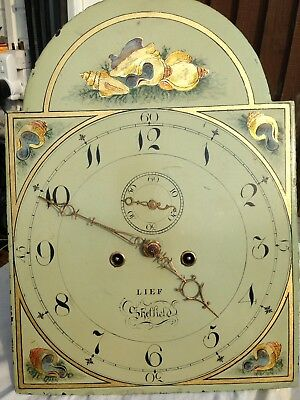 Lief Of Sheffield Longcase/ Grandfather Clock