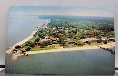 Alabama AL Point Clear Grand Hotel Mobile Bay Postcard Old Vintage Card View PC