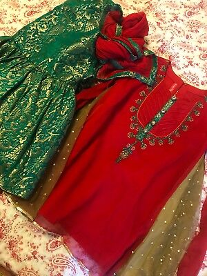 pakistani outit for little girl 2t to 3t