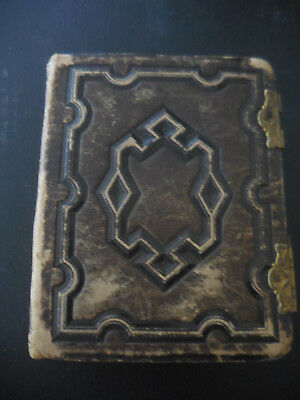 Antique Photo Album #6    For Tintype & Cdv Photos ( Empty )