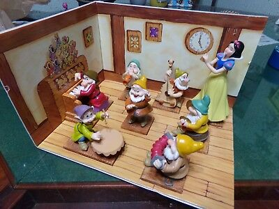 Snow White And The Seven Dwarfs 65 Anniversary Collection Enesco Complete Set