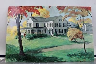 Connecticut CT New Preston Lake Waramaug Inn Postcard Old Vintage Card View Post