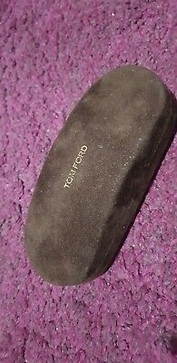 Tom Ford Glasses Case With Cloth Fabric Brown Style New Unused