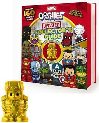 Marvel Ooshies Updated Collector's Guide Hardcover Book Free Shipping!