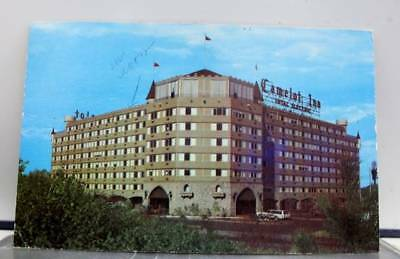 Oklahoma OK Tulsa Camelot Inn Motor Hotel Postcard Old Vintage Card View Post PC
