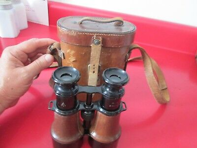 Antique  PARIS L. PETIT FABT 1918   BINOCULARS  serial #23596  #6