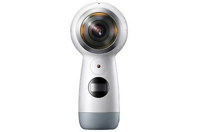 SAMSUNG Gear 360 (2017) 4K Ultra HD Action Camcorder Camera - White