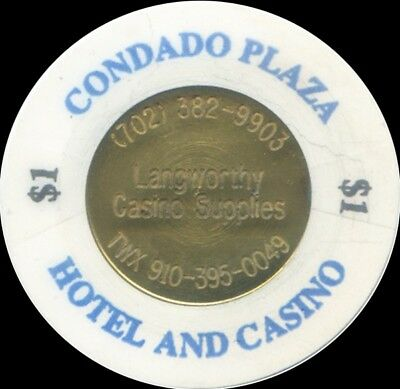 Langworthy Casino Supplies Coin Inlay