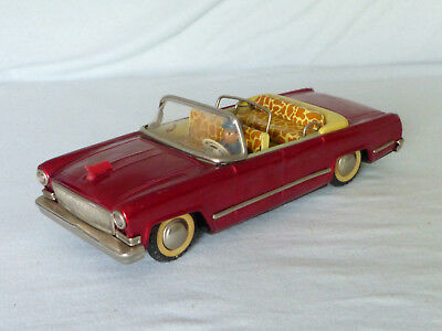 Red China MF 135 Hongqi CA72 CA770J Red Flag Blech Auto Tin Toy Car 70er Jahre
