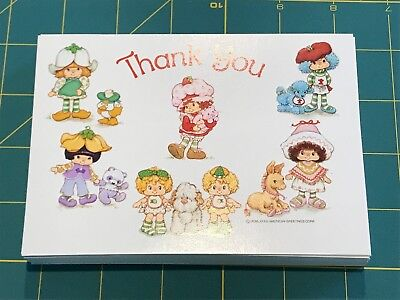 Strawberry Shortcake lot of 55 unused post cards from 1983