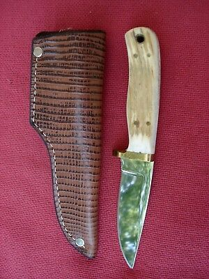Vintage Weinand Lolo MT. Wisconsin Bowhunters 50th Knife, 1941-1991