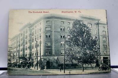 West Virginia WV Huntington Frederick Hotel Postcard Old Vintage Card View Post