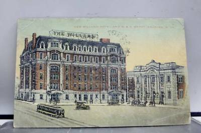 West Virginia WV Grafton Willard Hotel BO Depot Postcard Old Vintage Card View