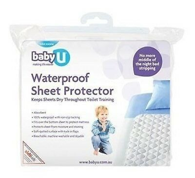 Baby U Waterproof Sheet Protector Kids Mattress Protector BabyU Toddler Training