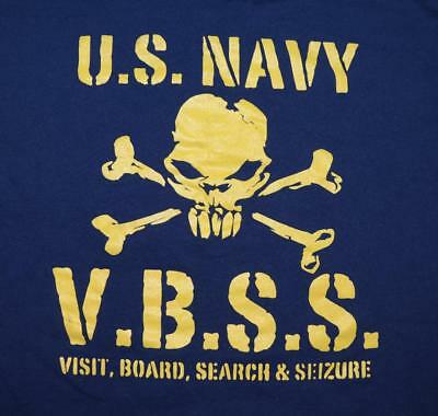 US Navy Expeditionary Center For Security Forces VBSS Training Unit Shirt - LG