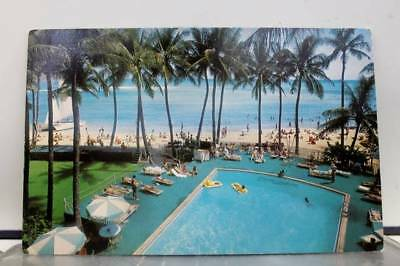 Hawaii HI Outrigger East Hotel Postcard Old Vintage Card View Standard Souvenir
