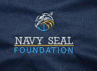 US Navy SEAL Foundation Naval Special Warfare NSW SOF Nike Polo Shirt - LARGE