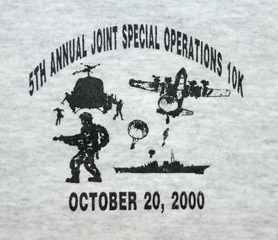 Joint Special Operations 10k JSOC Fort Bragg 2000 5th Annual Charity Shirt - LG